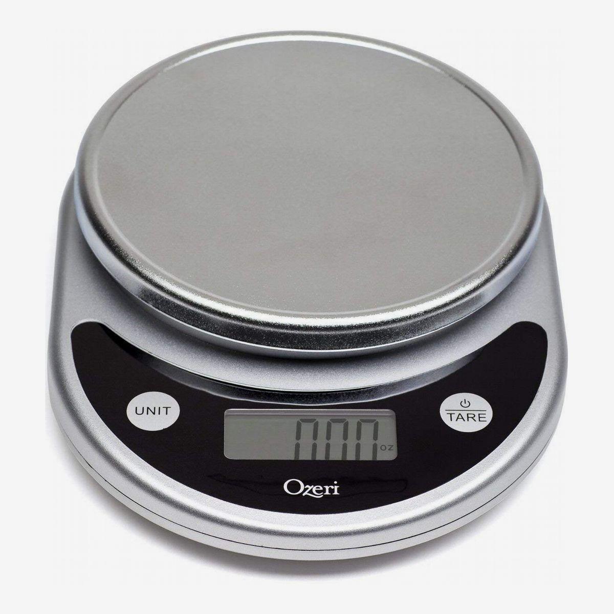 A kitchen scale
