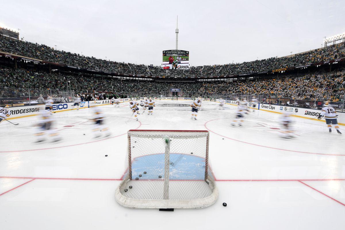 2020 Bridgestone NHL Winter Classic - Nashville Predators v Dallas Stars