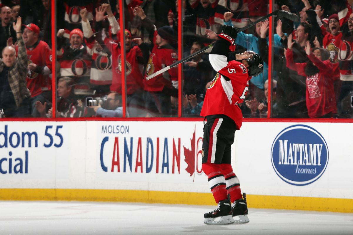Can Ceci relive this moment from the last game against the Blues?