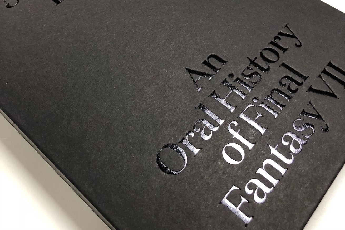 our final fantasy 7 oral history book is out now