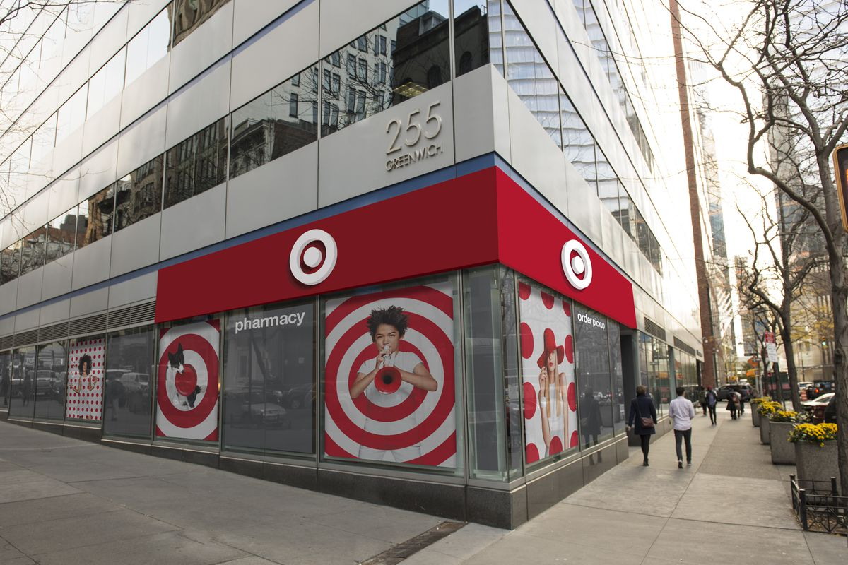 A rendering of Target's Tribeca location