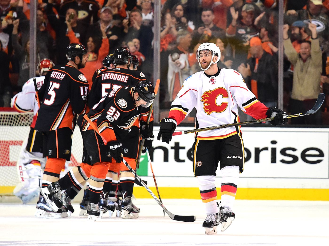 Calgary Flames In Anaheim Yup It S As Bad As You Think Matchsticks And Gasoline