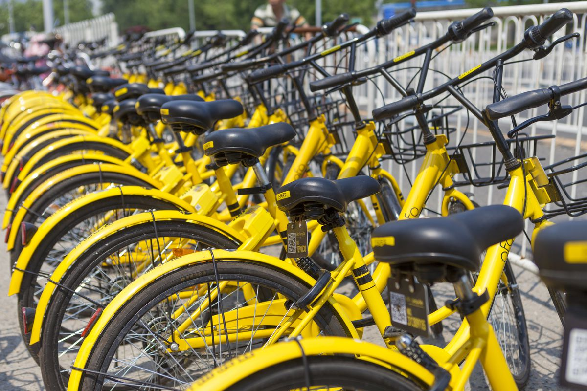 ofo bike share set to launch in seattle   curbed seattle