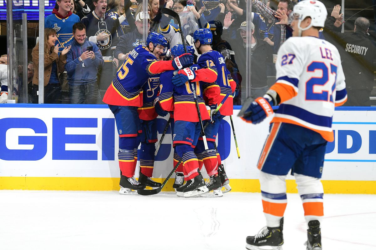 NHL: FEB 27 Islanders at Blues
