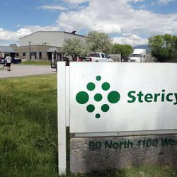 Stericycle medical waste incineration plant in North Salt Lake City  Thursday, May 30, 2013.