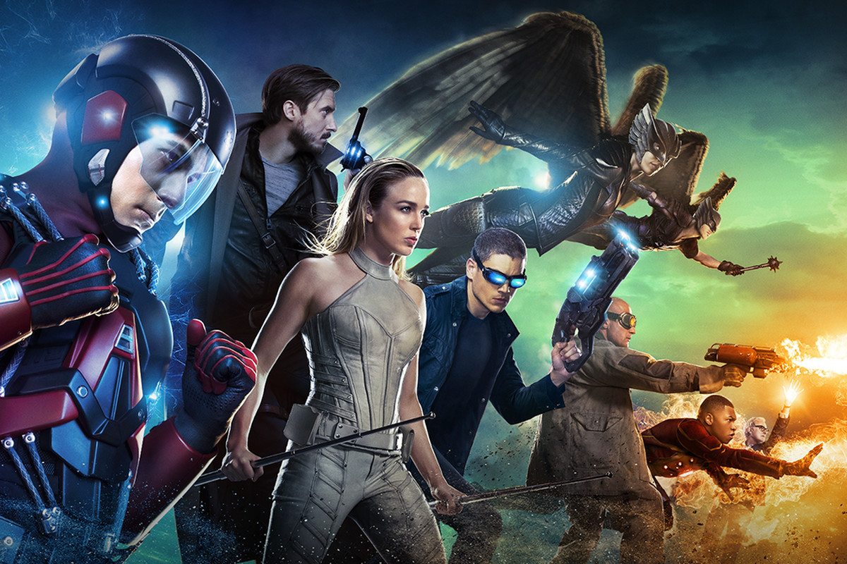 Atom, Rip Hunter, White Canary, Captain Cold, Hawkgirl, Heat Wave, Firestorm, and a partridge in a pear tree.