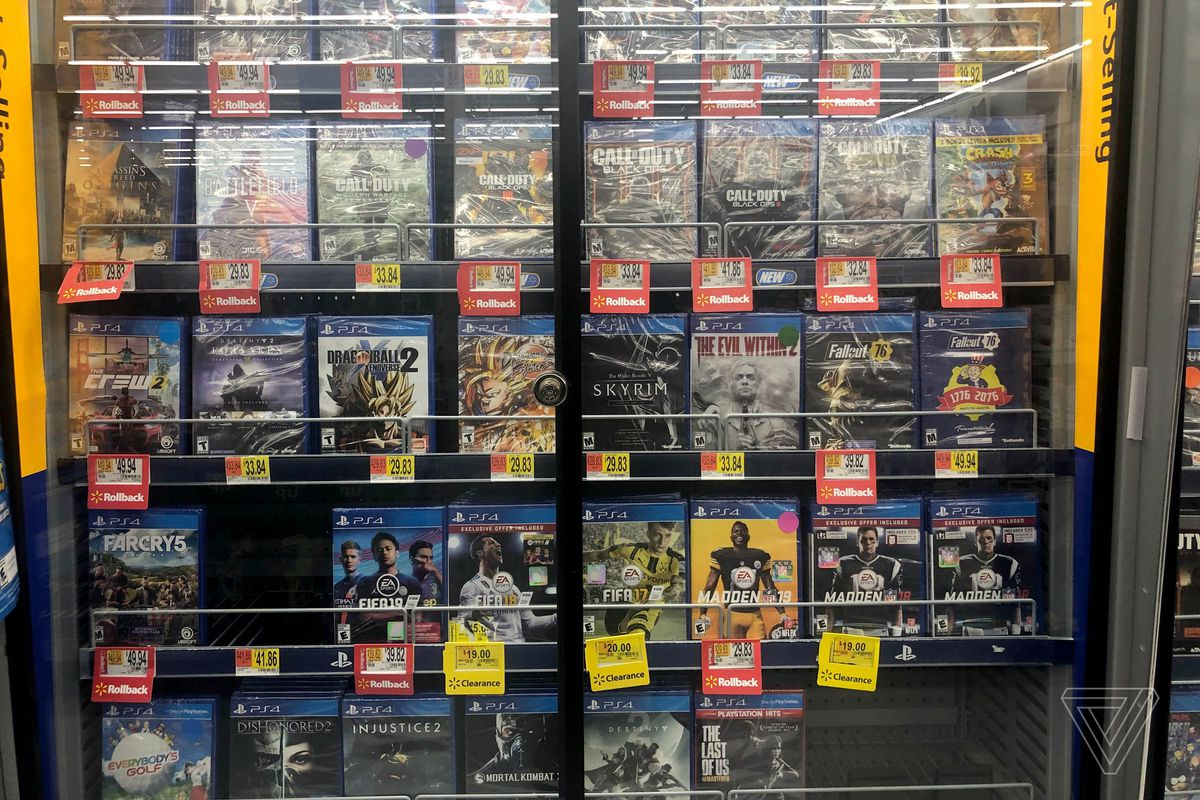 Walmart denies report that it's taking violent video games off