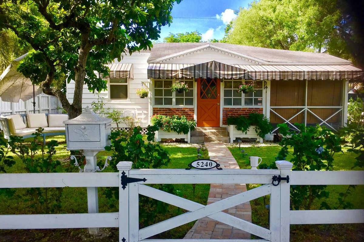 a tiny home in Coral Gables