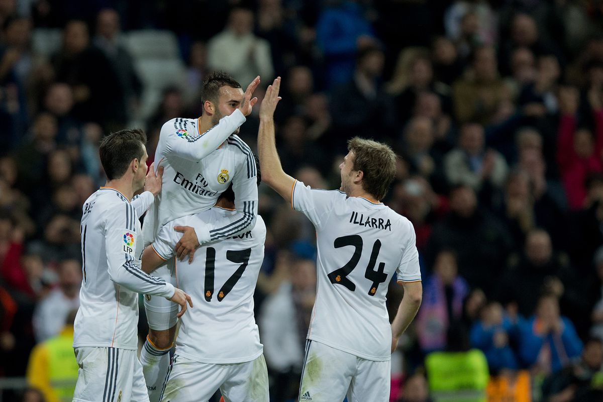 Espanyol Vs Real Madrid, Liga BBVA 2013-2014: Match