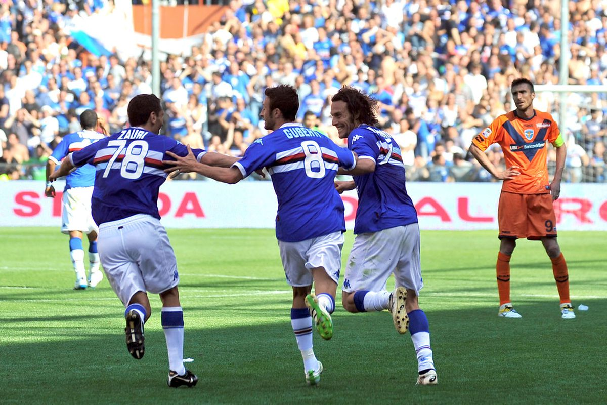 Will Sampdoria be celebrating tonight?