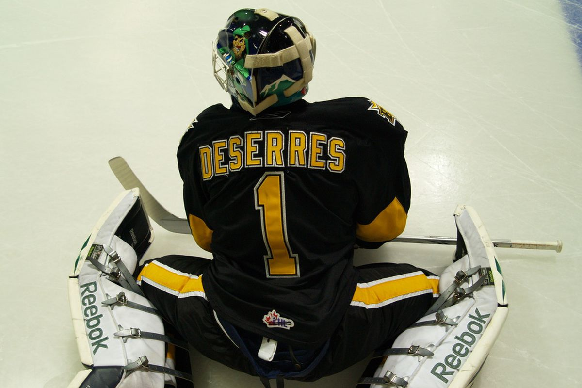 Jacob De Serres is in his final season in the WHL and hopes to be playing in Orange and Purple next year.