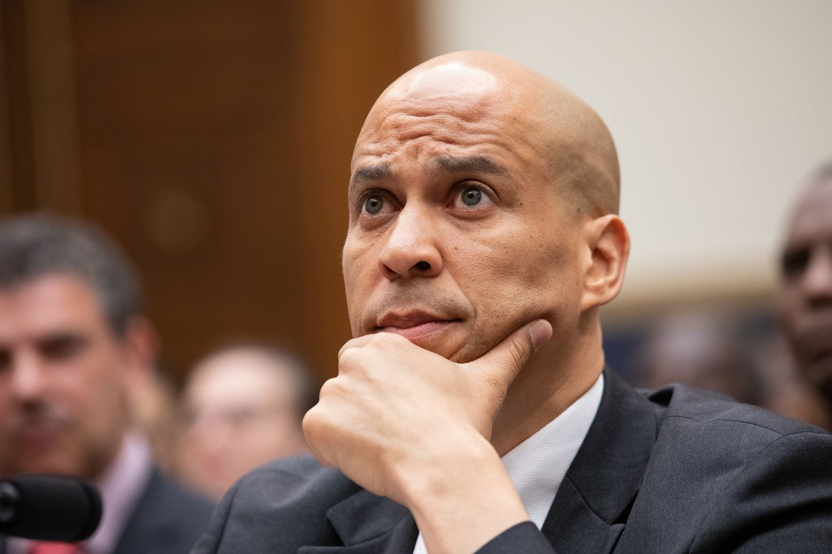 Sen. Cory Booker (D-NJ) testifies in Congress about reparations.