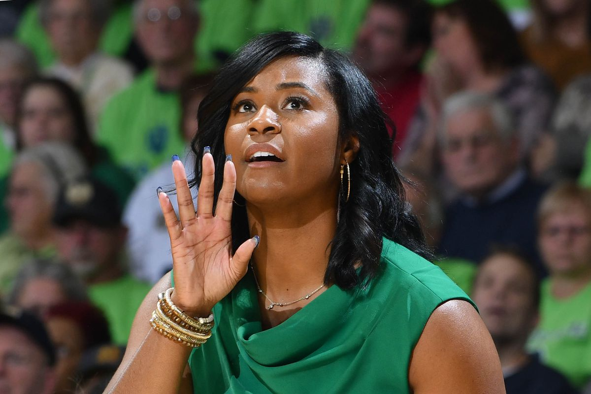 NCAA Womens Basketball: Connecticut at Notre Dame