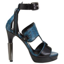 """<b>Maiyet</b> Snakeskin Half-T Sandal, <a href=""""http://www.barneys.com/Maiyet-Snakeskin-Half-T-Sandal/502421850,default,pd.html?cgid=womens-shoes&index=66#"""">$1,195</a> at Barneys"""