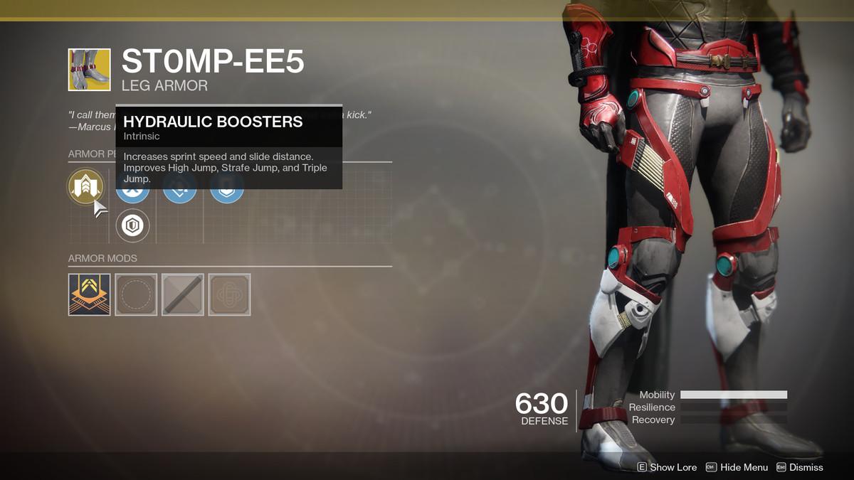 St0mp-ee5 Exotic Destiny 2