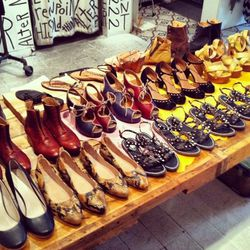 """<a href=""""http://instagram.com/p/bCDKi4p4bs/"""">@alterbrooklyn</a> Super Shoe Sale in effect at Women's Store</span>"""