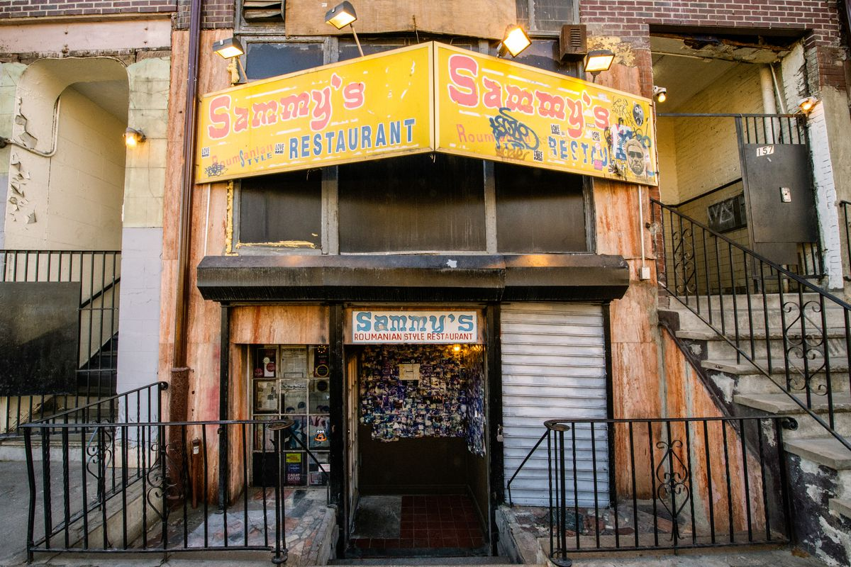 Sammy's Roumanian Steakhouse on the Lower East Side