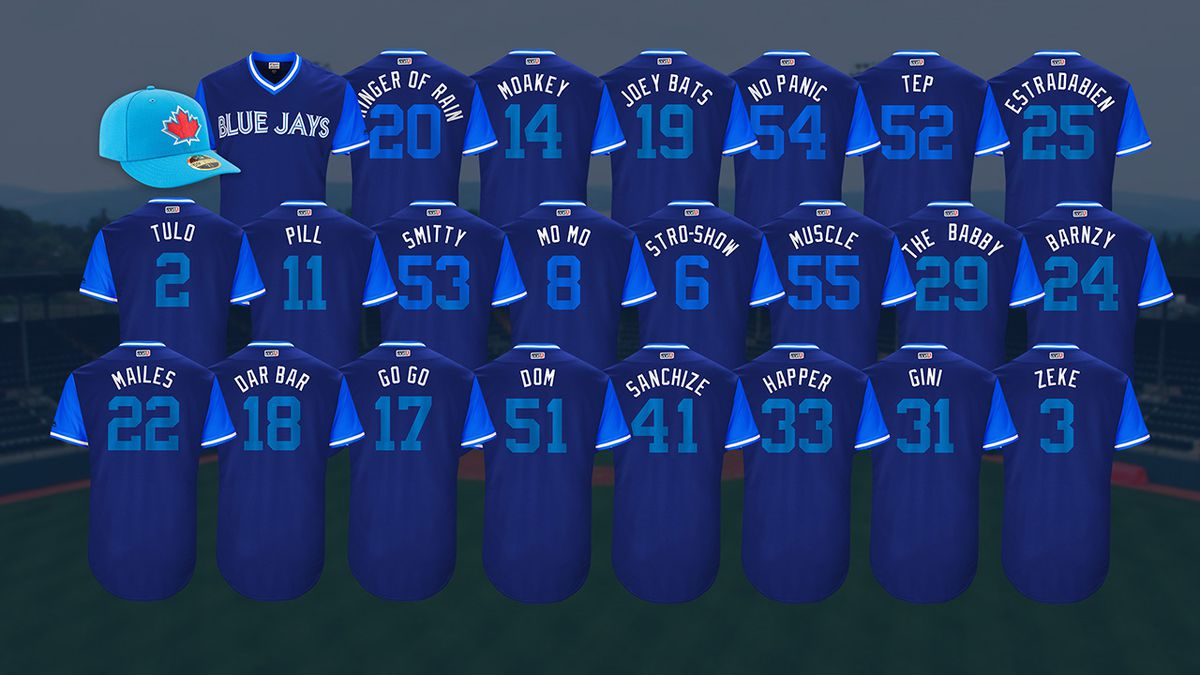 100% authentic dba16 bf3d4 Players Weekend Jerseys Revealed - Bluebird Banter
