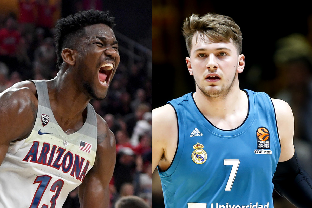 4477af549c6b NBA mock draft 2018  Luka Doncic vs. Deandre Ayton is the draft s great  debate