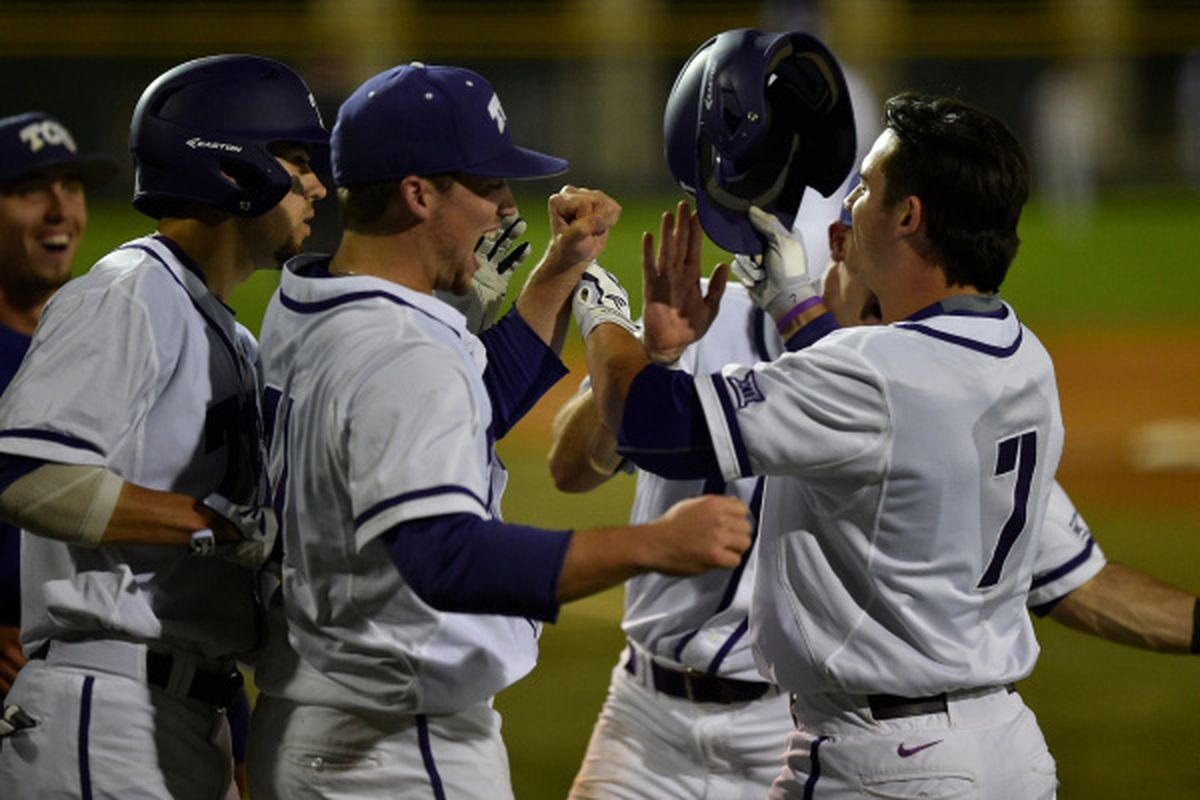 The Frogs won a wild one today against the USC Trojans in extra innings