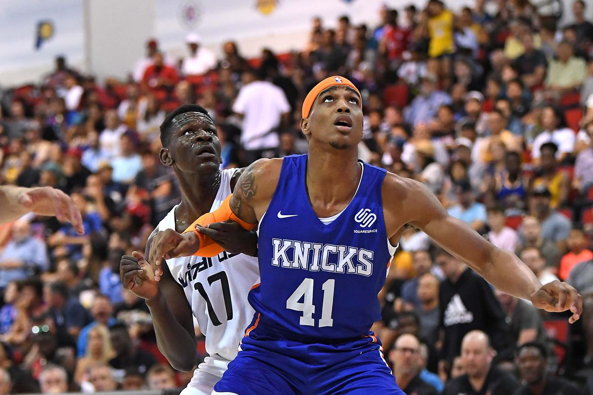 The Knicks have signed four players for training camp, and Hasheem Thabeet might still be in play