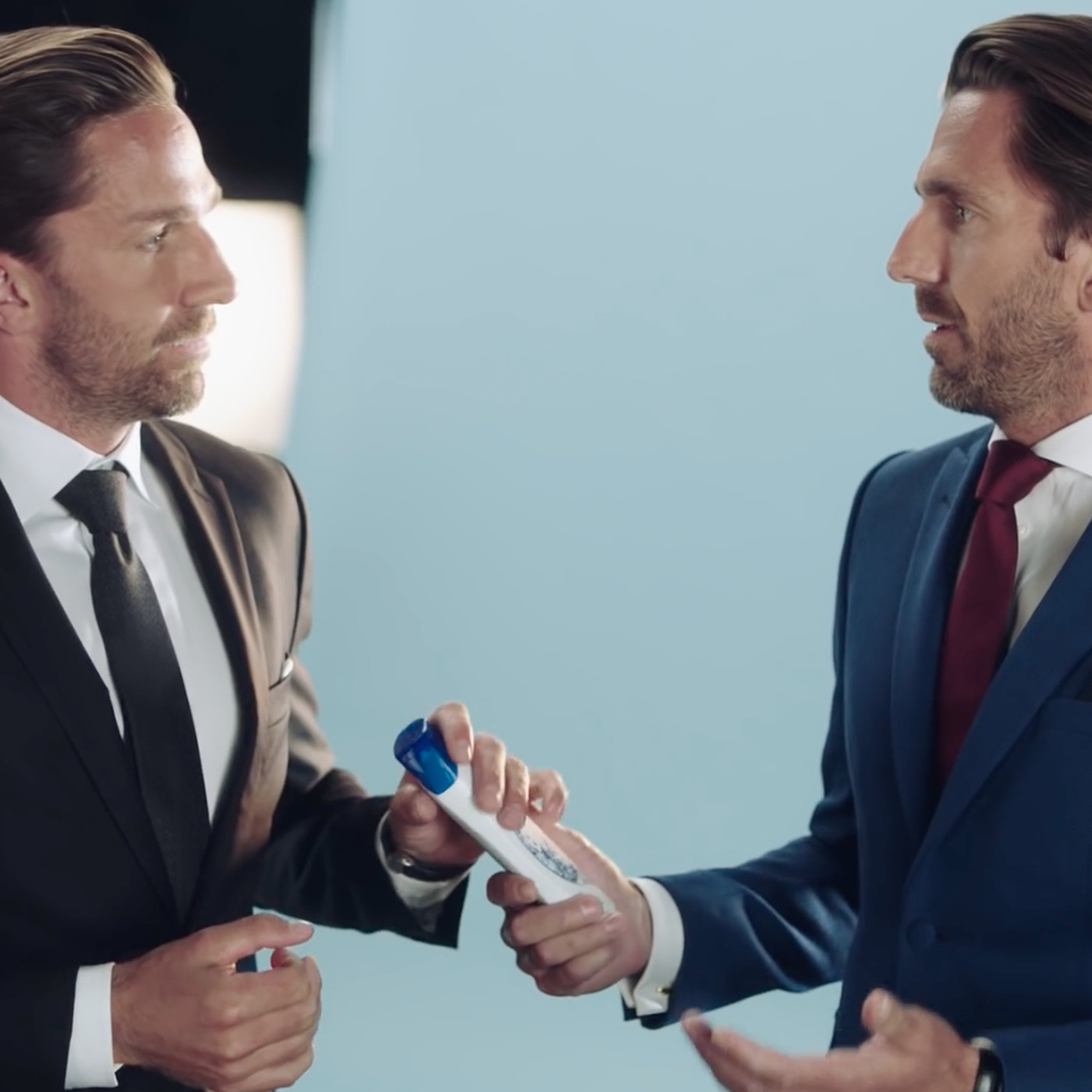Watch Joel Lundqvist Steals Henrik S Head Shoulders Ad
