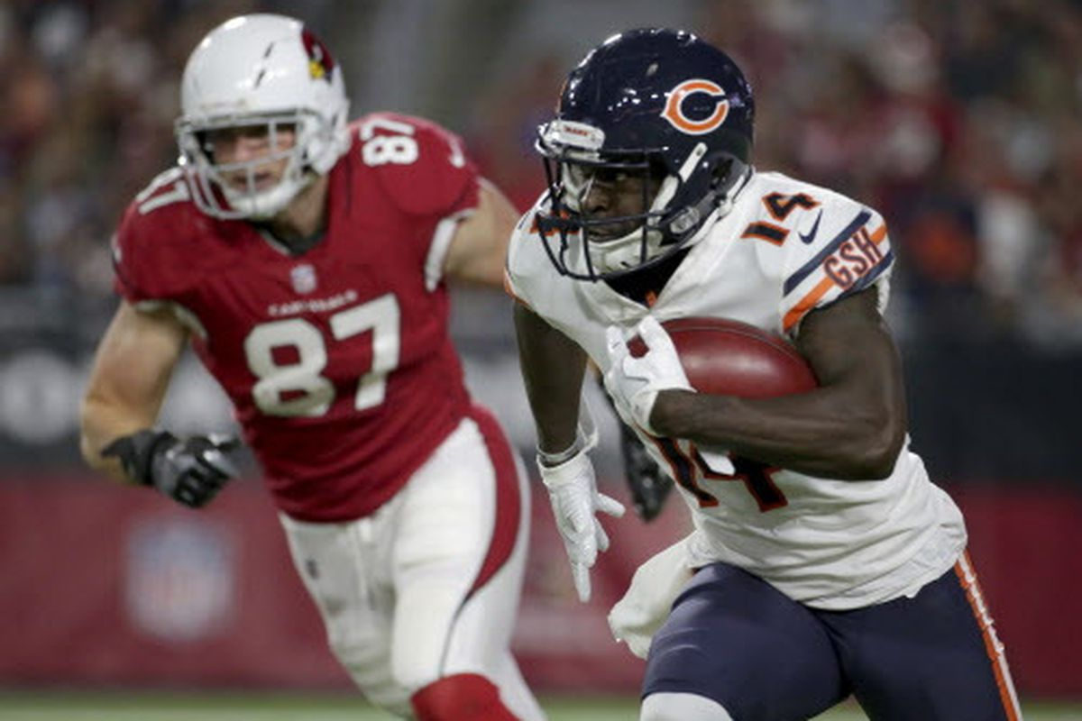 online store a6228 8982b Bears cut WR Deonte Thompson, promote Tanner Gentry ...