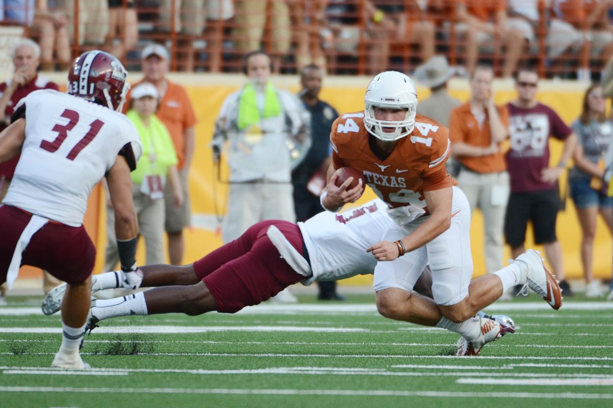 Sort of looks like David Ash is giving this Aggie a DDT. Yep.