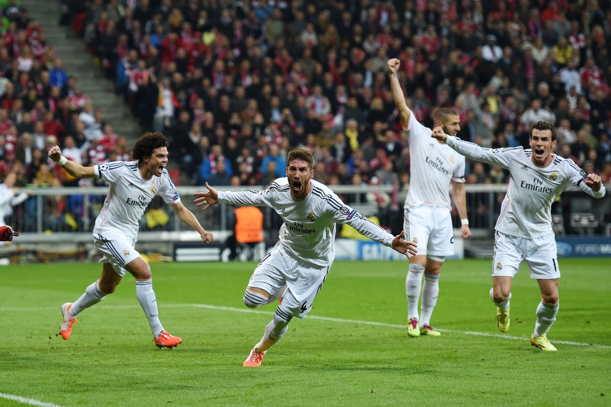 Champions League FC Bayern Muenchen - Real Madrid