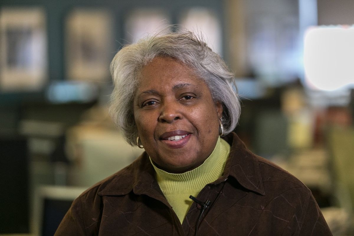 Cook County Commissioner Deborah Sims, pictured in 2018. Sims said Friday she'll step down in 2022.