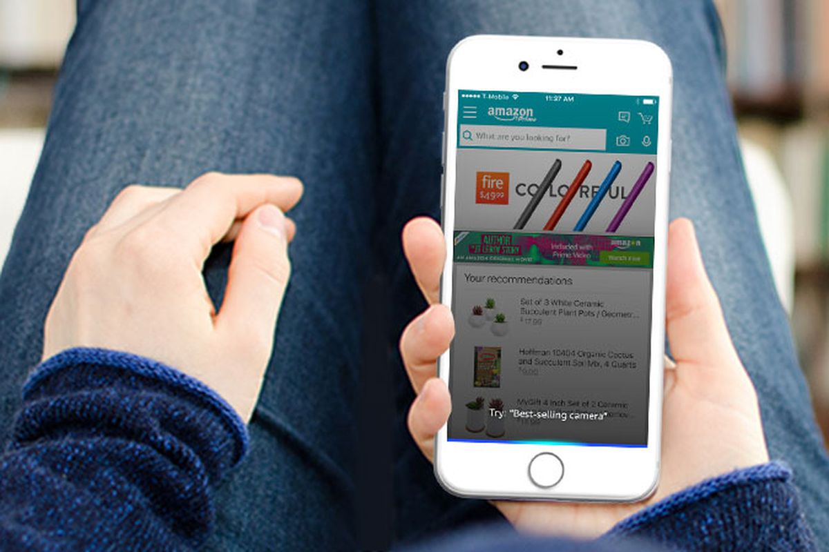 Alexa in Amazon iOS app