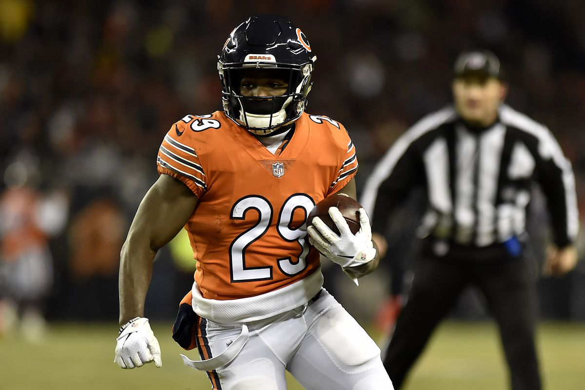 low priced 23c8a cbf03 Tarik Cohen using injured brother as motivation heading into ...