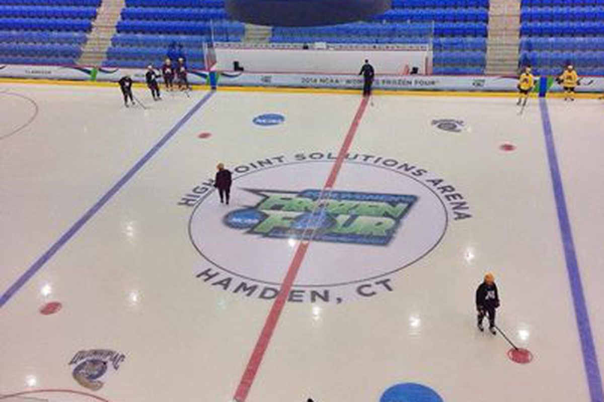 The Gophers are ready for this weekend's NCAA Frozen Four