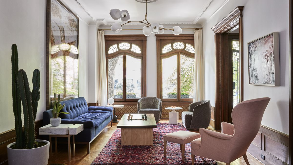 a brooklyn townhouse built in 1901 gets a revamp with a contemporary