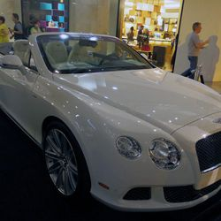 One lucky bidder won a weekend with this $260,000 bad boy.