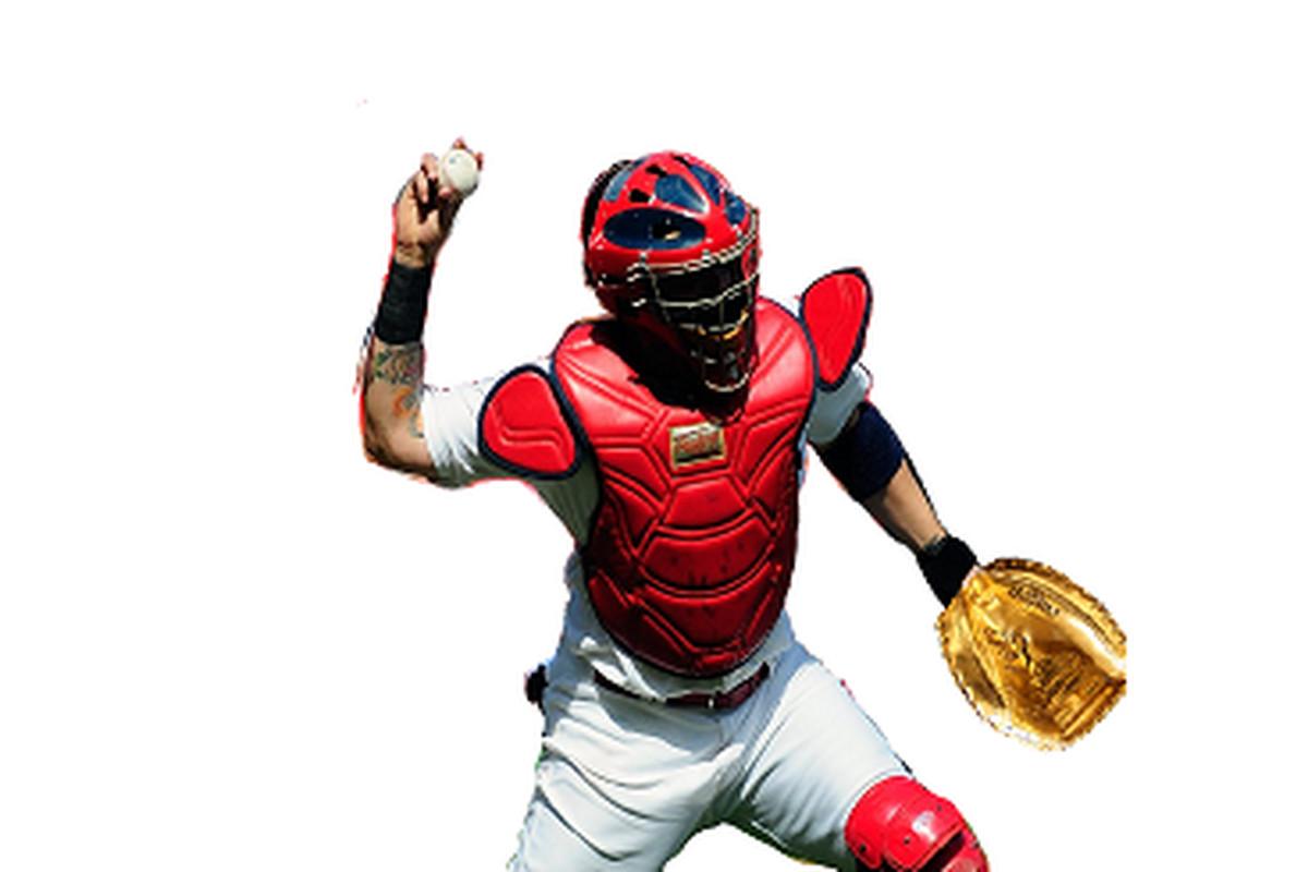 Yadier Molina Wins Gold Glove Award