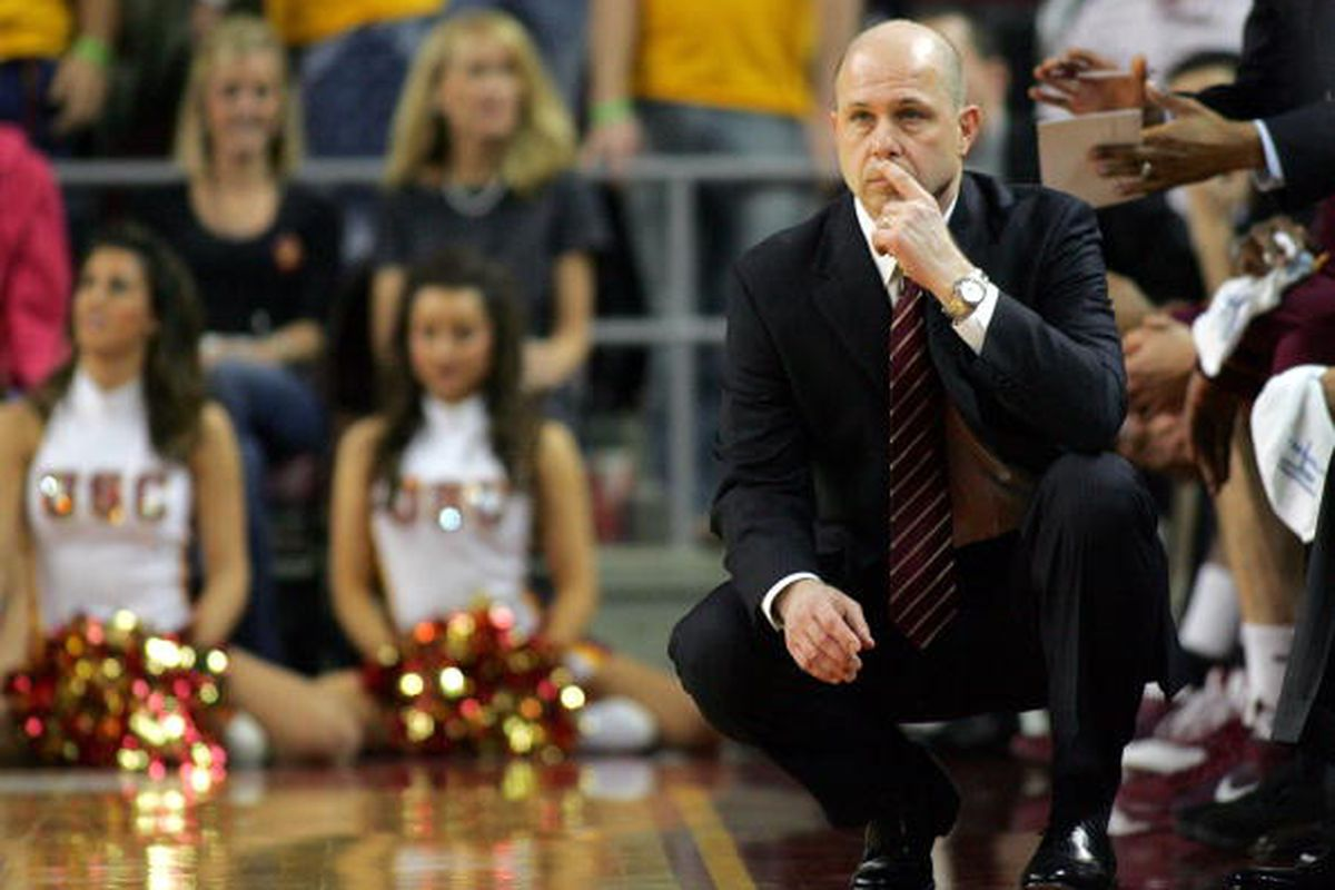 Herb Sendek is looking forward to utilizing Jahii Carson in the ASU offense in 2012. (Photo by Victor Decolongon/Getty Images)