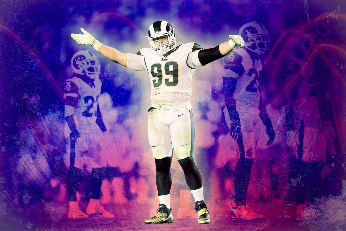outlet store e15d7 5e65a With Aaron Donald's Megadeal, the Rams Have a 2-Year Super ...