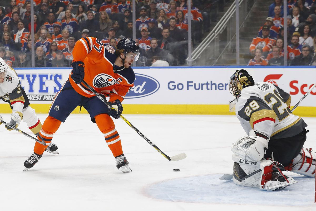 Gameday  Golden Knights welcome the Connor McDavid show to Las Vegas ... 9c33112ace1d
