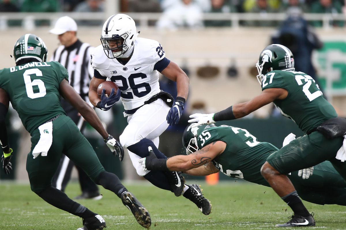 Saquon Barkley told Michigan State players about Ohio State mid-game ... bbcfc76bb