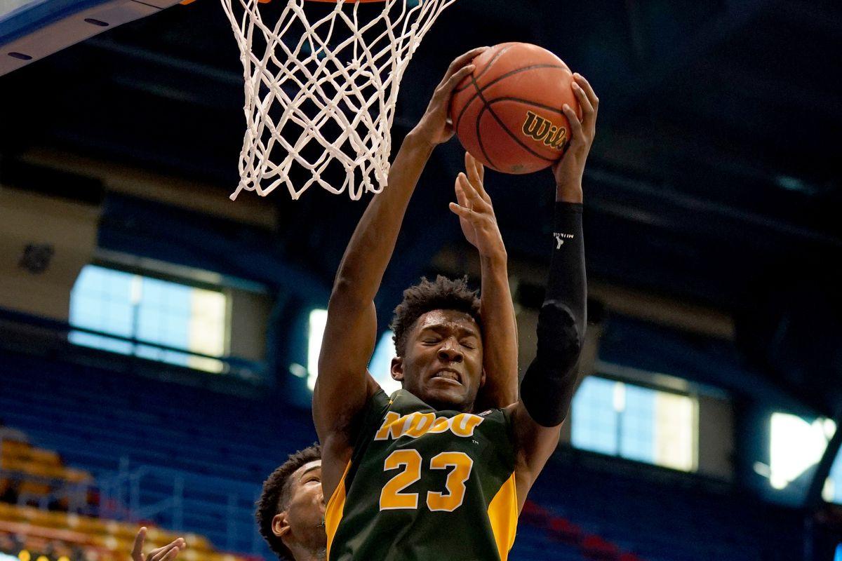 NCAA Basketball: North Dakota State at Kansas