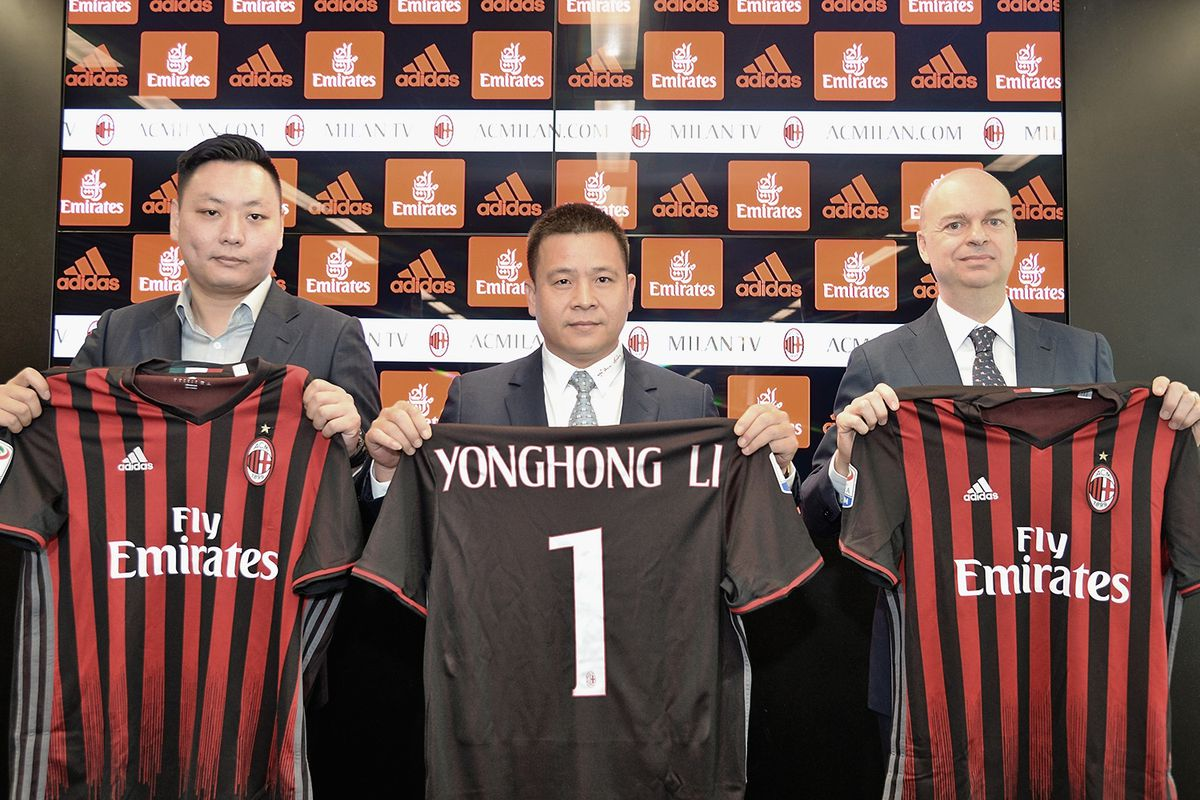 Report milan owner to sell 25 of club the ac milan offside photo by studio buzziac milan via getty images voltagebd Image collections