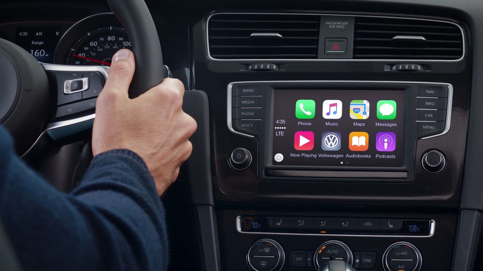volkswagen says apple wouldn t let it demo wireless carplay the verge. Black Bedroom Furniture Sets. Home Design Ideas