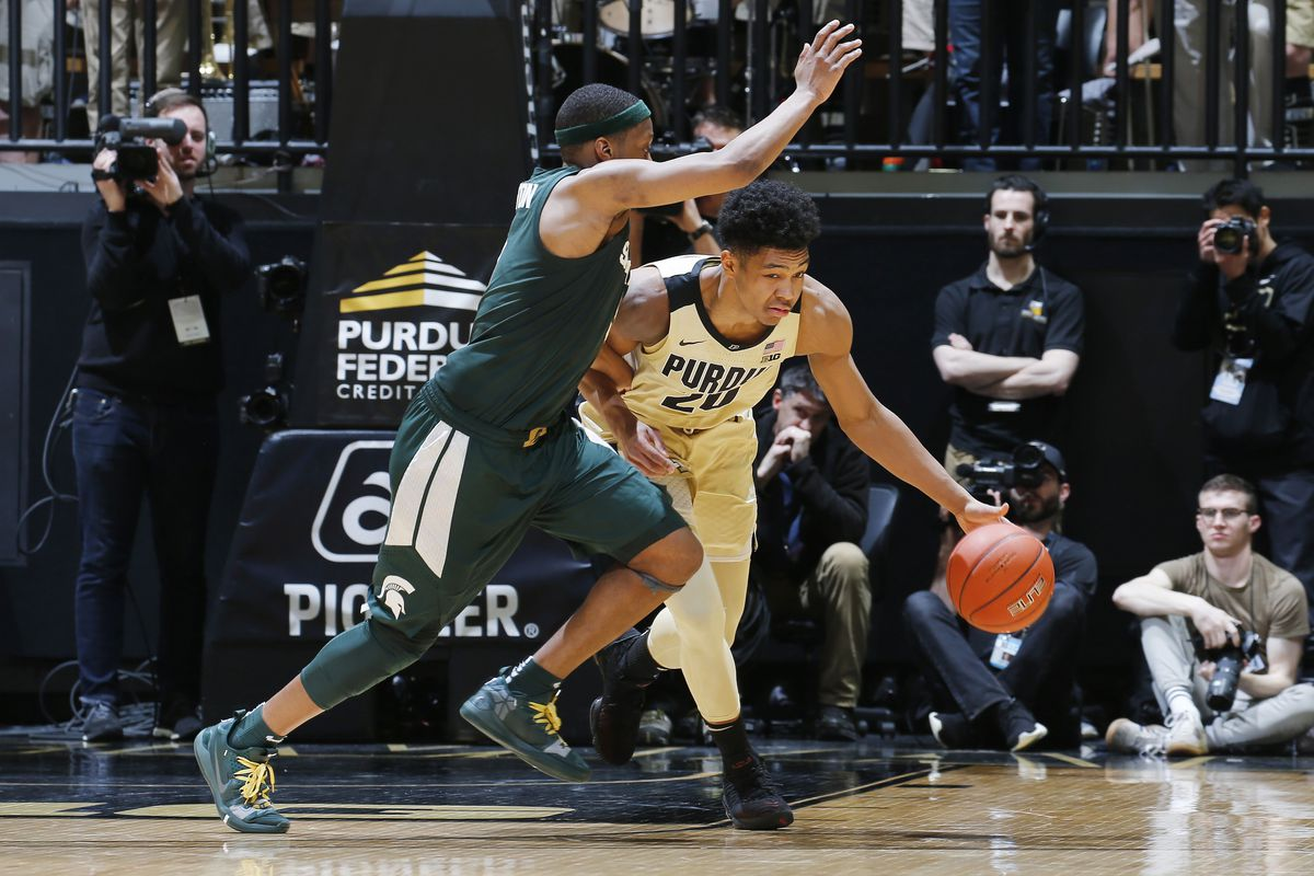 Michigan State At Purdue Preview Hammer And Rails