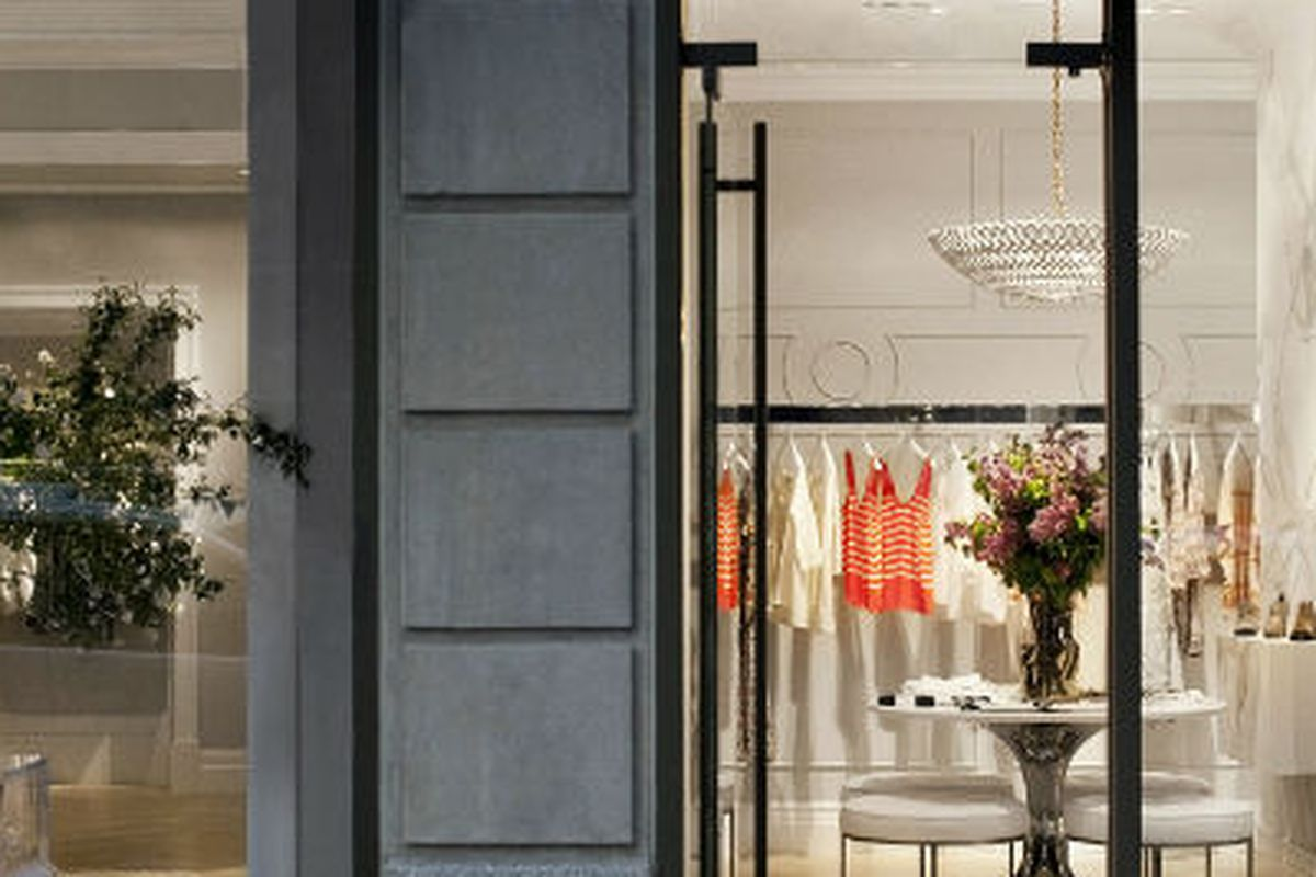 Joie's only stand-alone store on Madison Avenue, via Racked LA