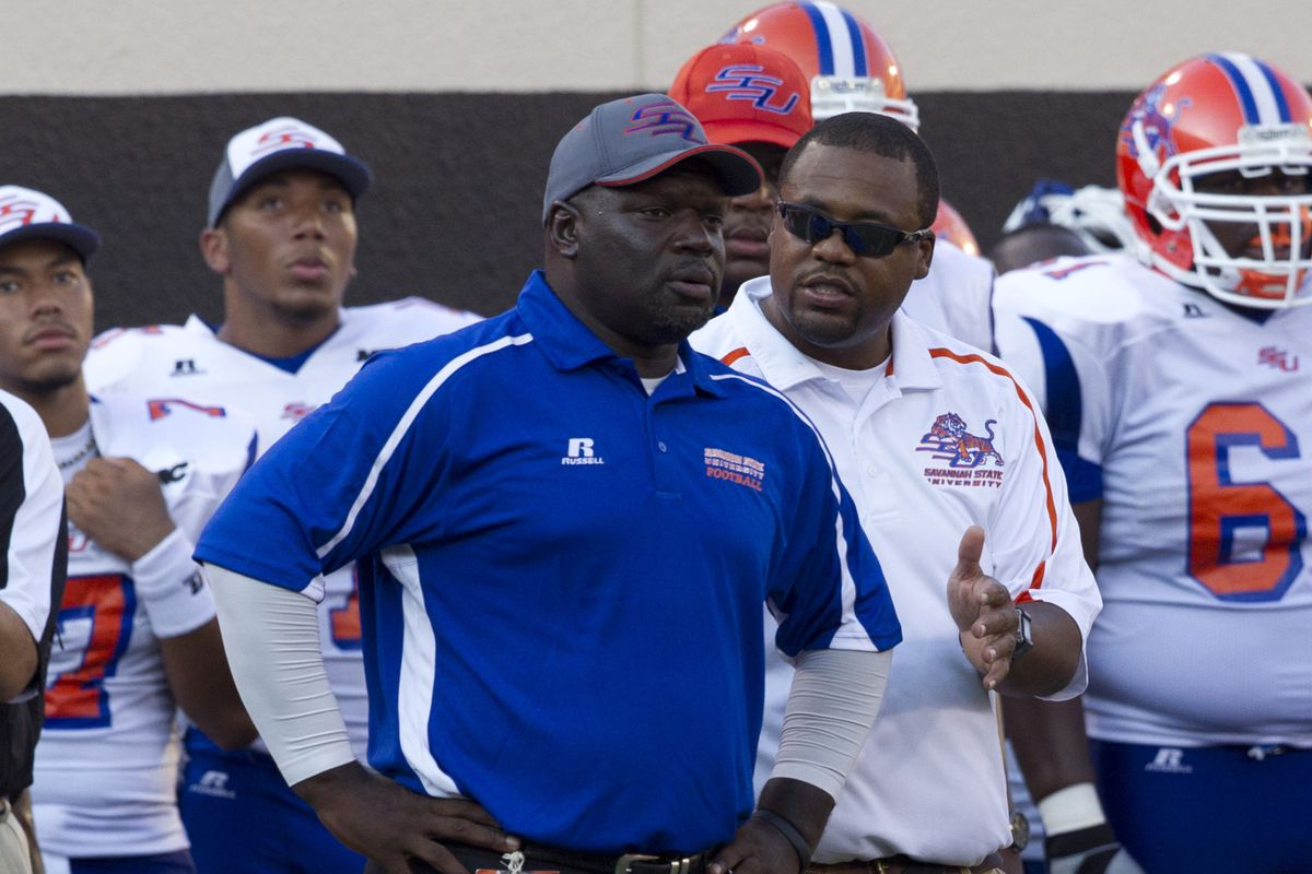 Savannah State Coaches search for answers against Oklahoma State. They didn't find any.