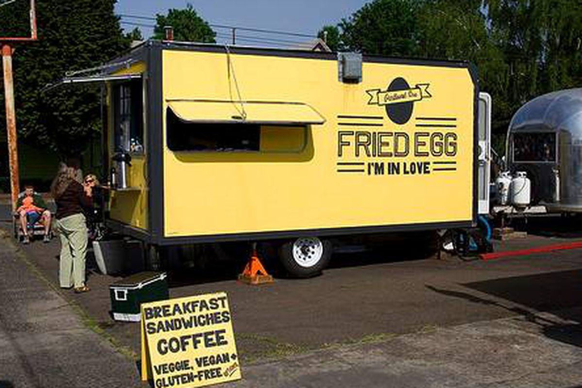 Fried Egg I'm in Love, Portland, OR