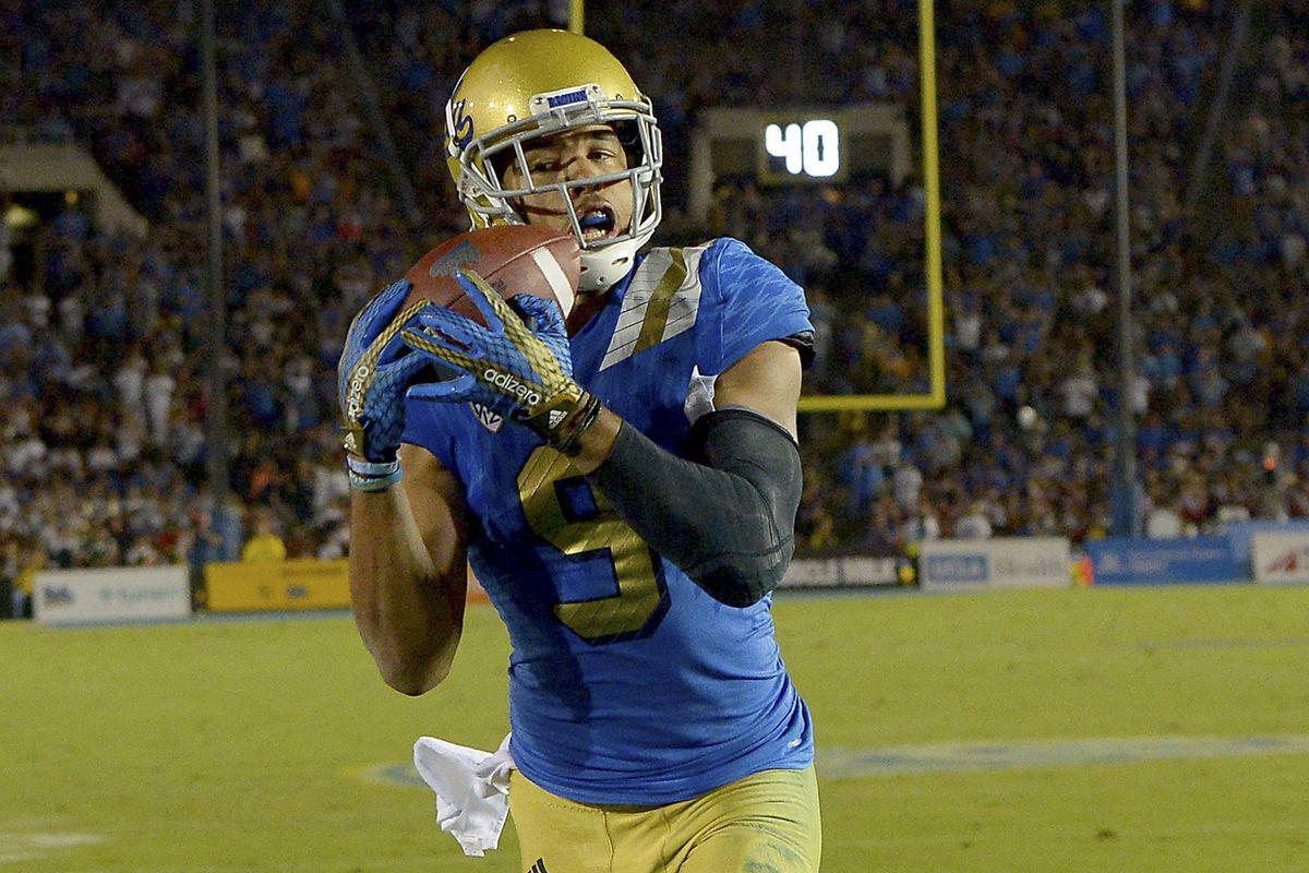 official photos 2e09e d2354 UCLA football recruiting WRs like Tarik Black, Evidence ...