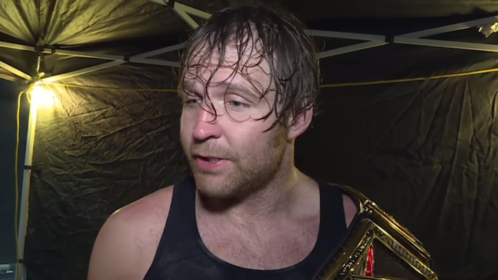 Ambrose's first promo as WWE world heavyweight champion