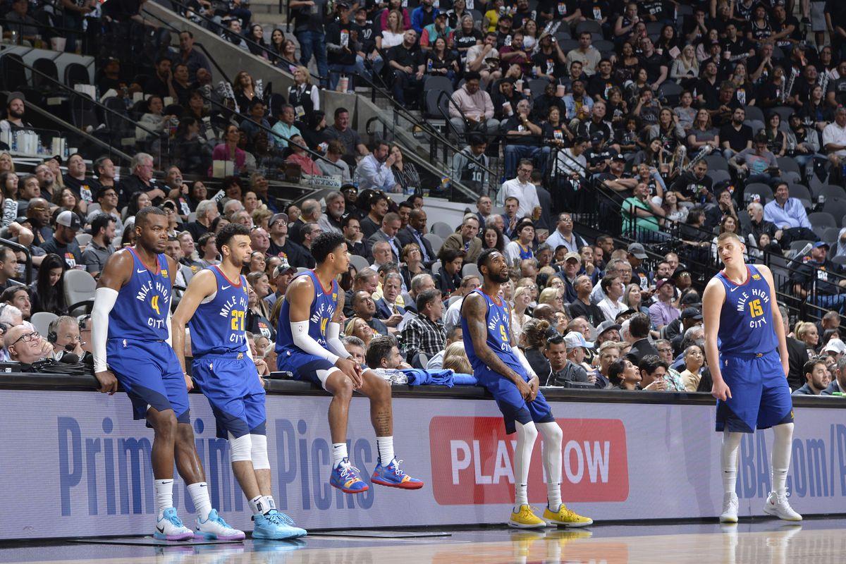 Denver Nuggets v San Antonio Spurs - Game Three
